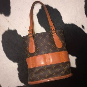 1970's Louis Vuitton French Company Bucket Bag